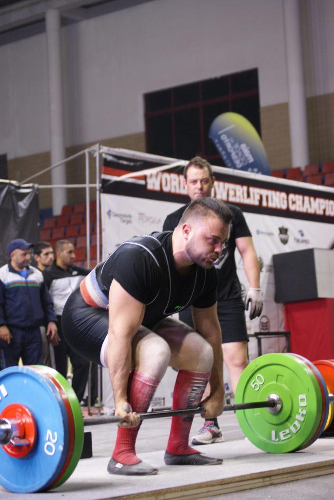 Anthony Rouxel deadlift championnats du monde WPC France