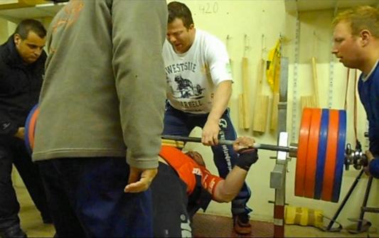 Bruno Szambe training wpc france