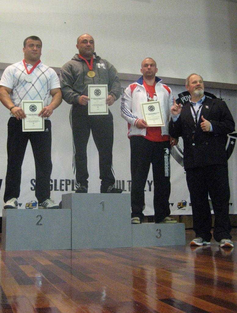 Bruno Szambelanczyk podium wpc