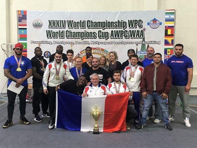 Championnat monde WPC 2017 Moscou France équipe