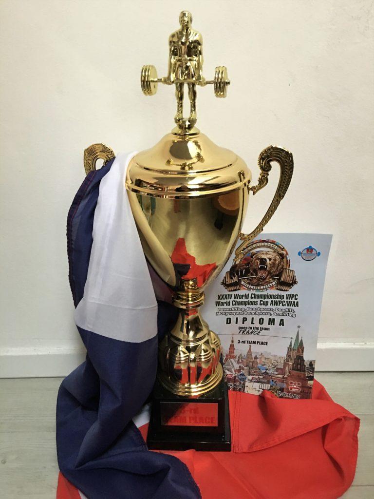 Championnat monde WPC 2017 Moscou best trophee