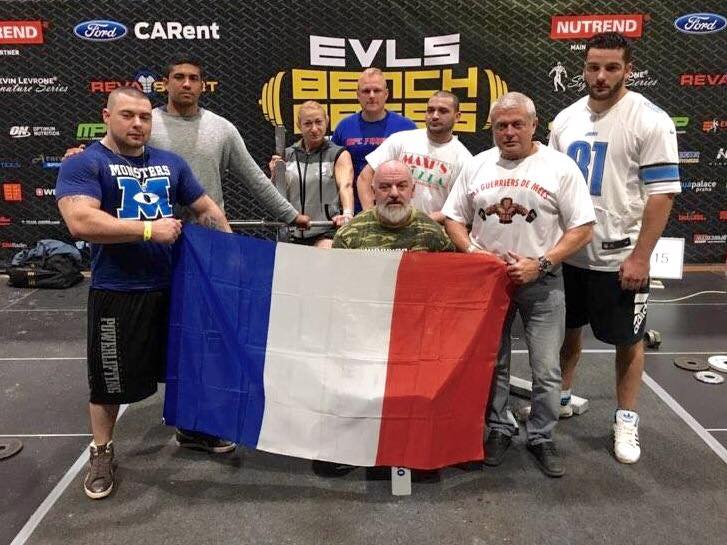 Coupe europe EVLS wpc 2016 prague equipe france