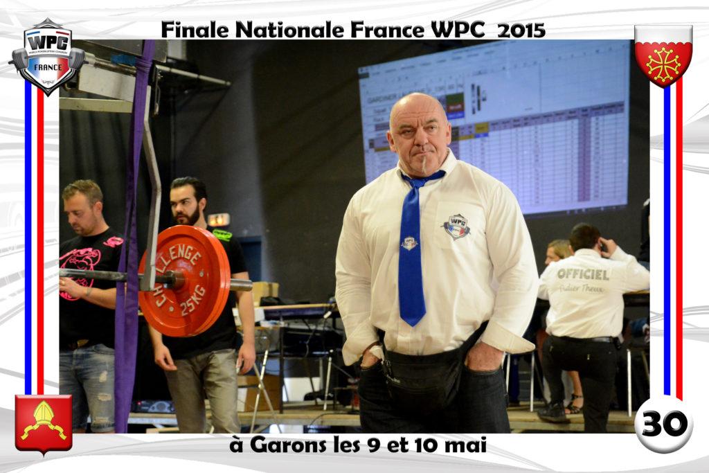 Didier Michelon WPC France arbitre
