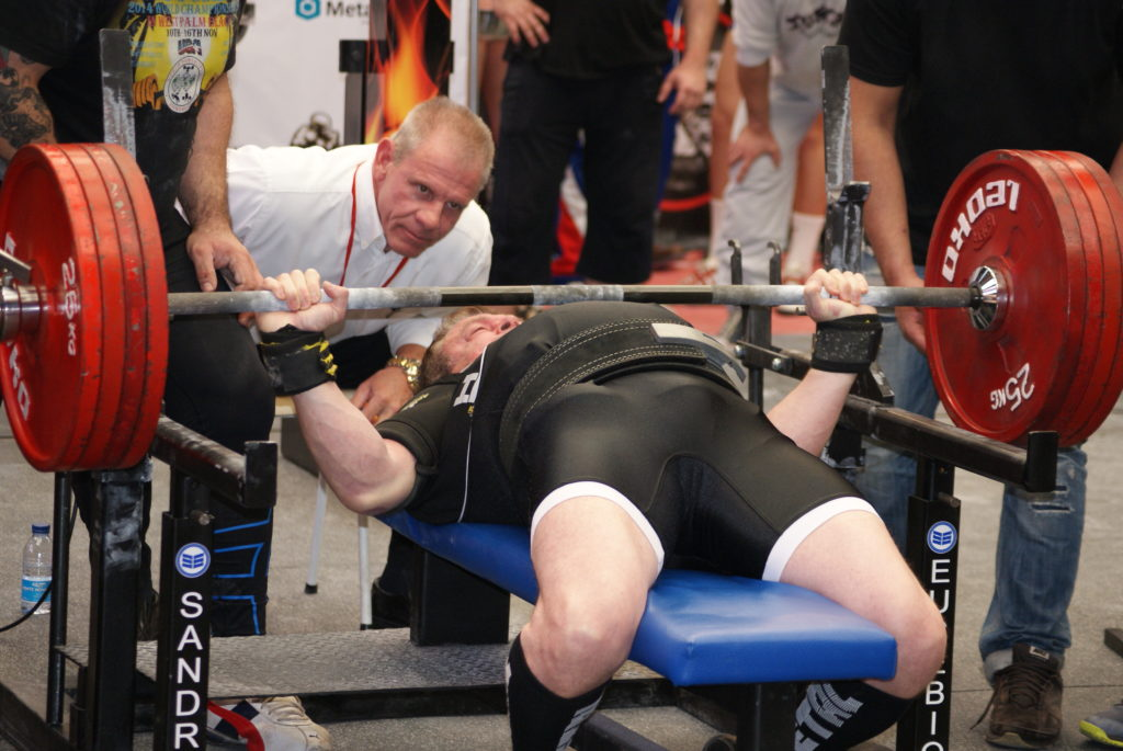 Didier Theux Benchpress WPC France