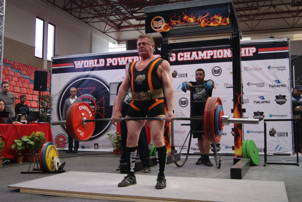 Didier Theux Powerlifying WPC France