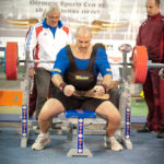 Eric platel bench championnat monde wpc france 2011 riga