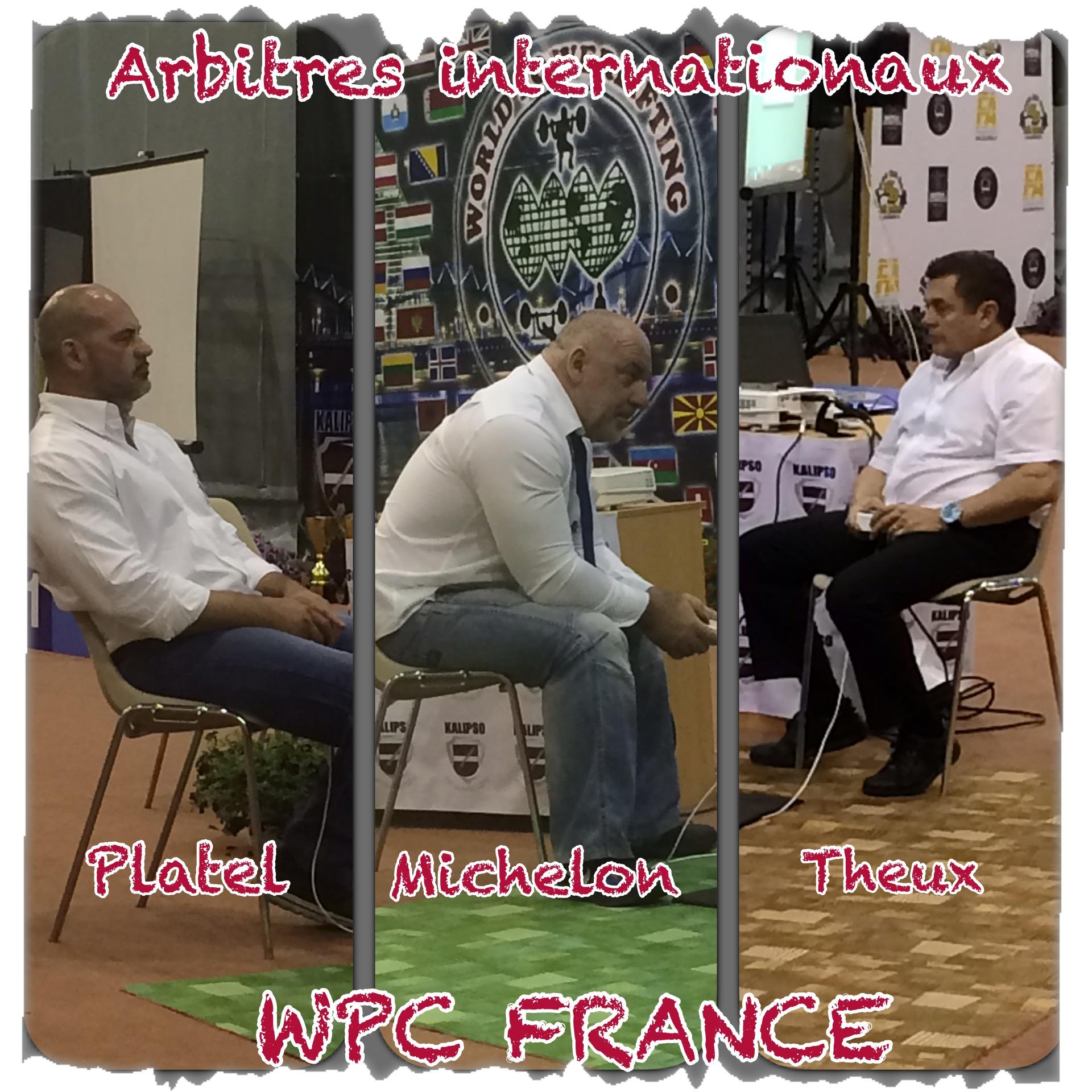 Europe 2015 Riga arbitres wpc france