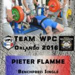 Fiche FLAMME pieter wpc france 2018