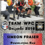 Fiche FRASER Simeon wpc france 2018