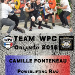 Fiche Fonteneau Camille wpc france 2018