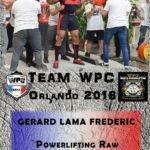Fiche LAMA gerard wpc france 2018