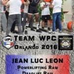 Fiche LEON jeanluc wpc france 2018