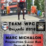 Fiche MICHALON marc wpc france 2018