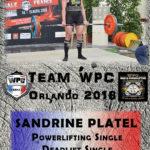 Fiche PLATEL sandrine wpc france 2018
