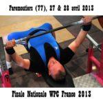 Finale wpc france faremoutiers 2013 pieter flamme