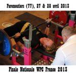 Finale wpc france faremoutiers 2013 sandrine platel