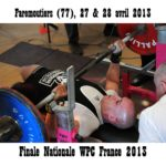 Finale wpc france faremoutiers 2013 vincent bourgeois