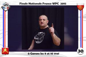 Finale France 2015 Garons Wolstroff organisateur