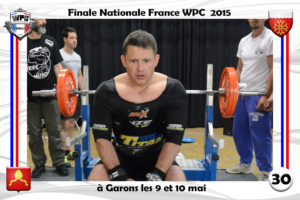 Finale wpc France 2015 Garons bench vincent Eldin