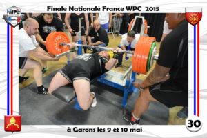 Finale wpc France 2015 Garons bench steeve gameiro