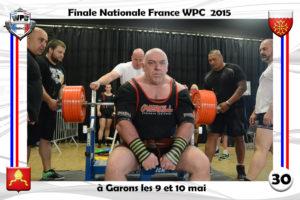 Finale wpc France 2015 Garons bench michelon didier