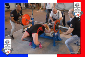 Finale wpc france 2017 sandrine platel_bench