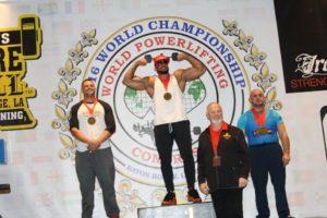 Monde wpc 2016 gerard lama podium
