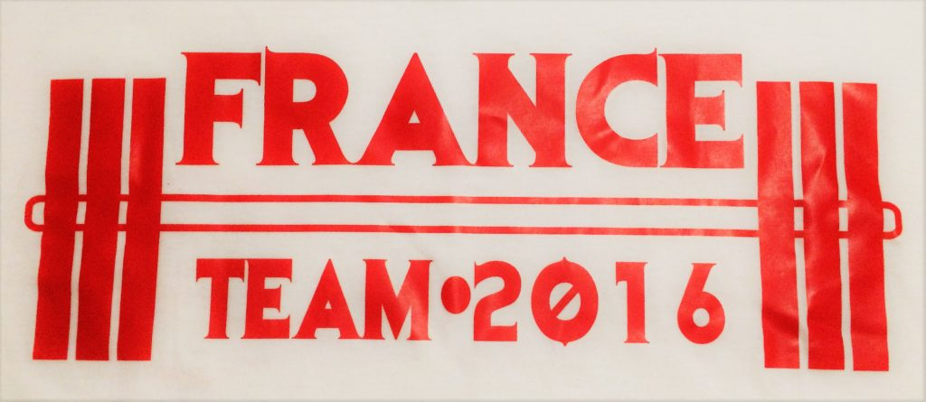 Monde wpc 2016 team france