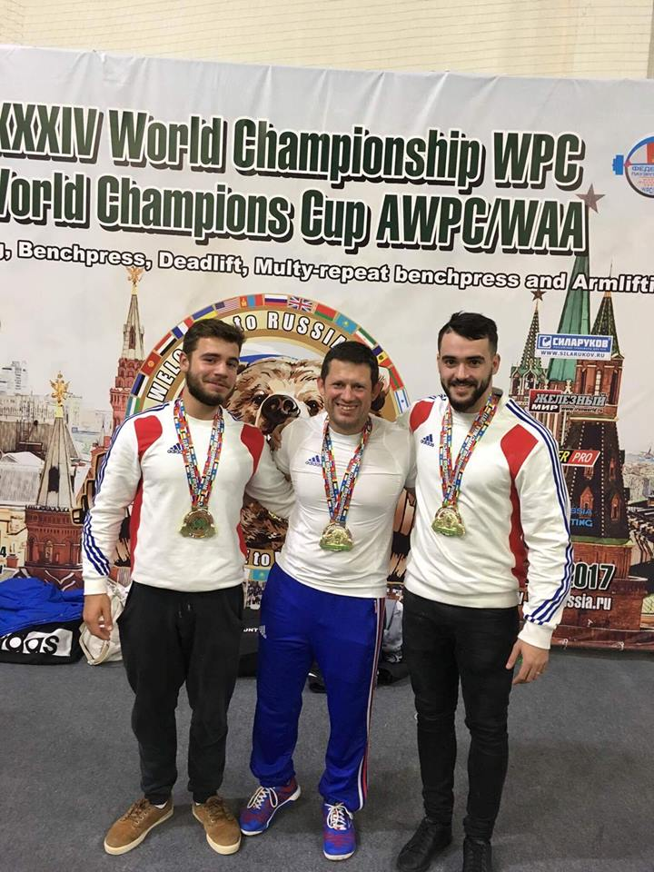Vincent Eldin WPC France equipe