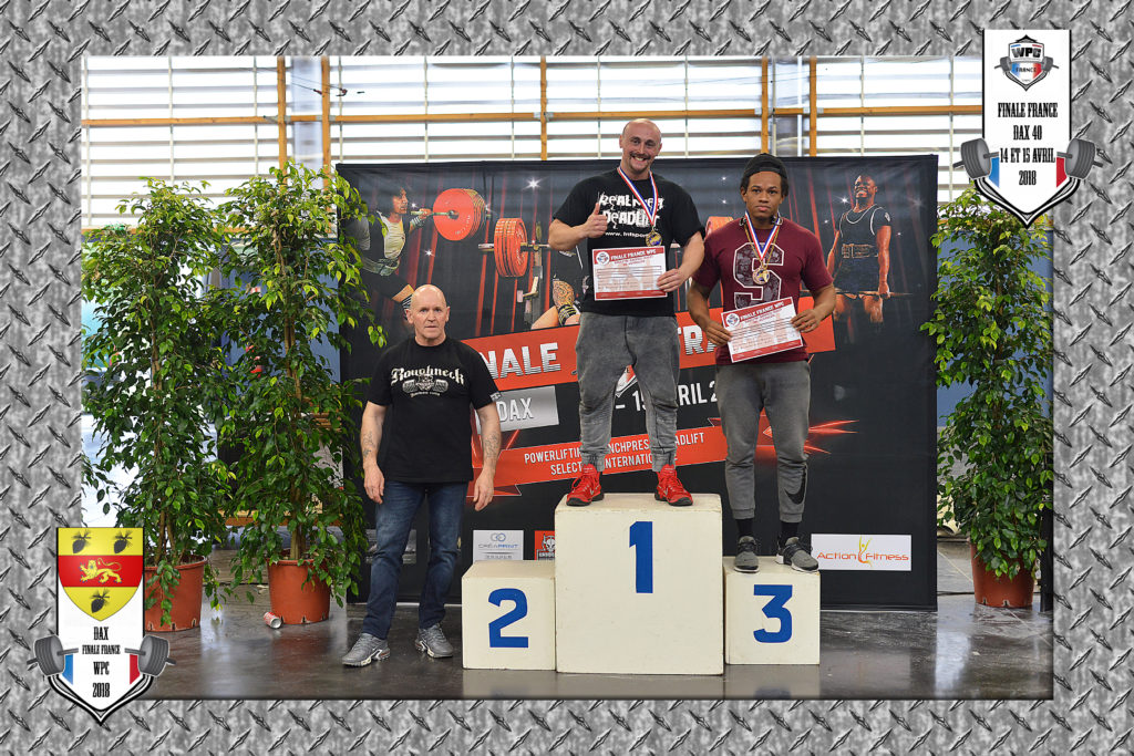 Vincent Kluska podium deadlift dax 2018