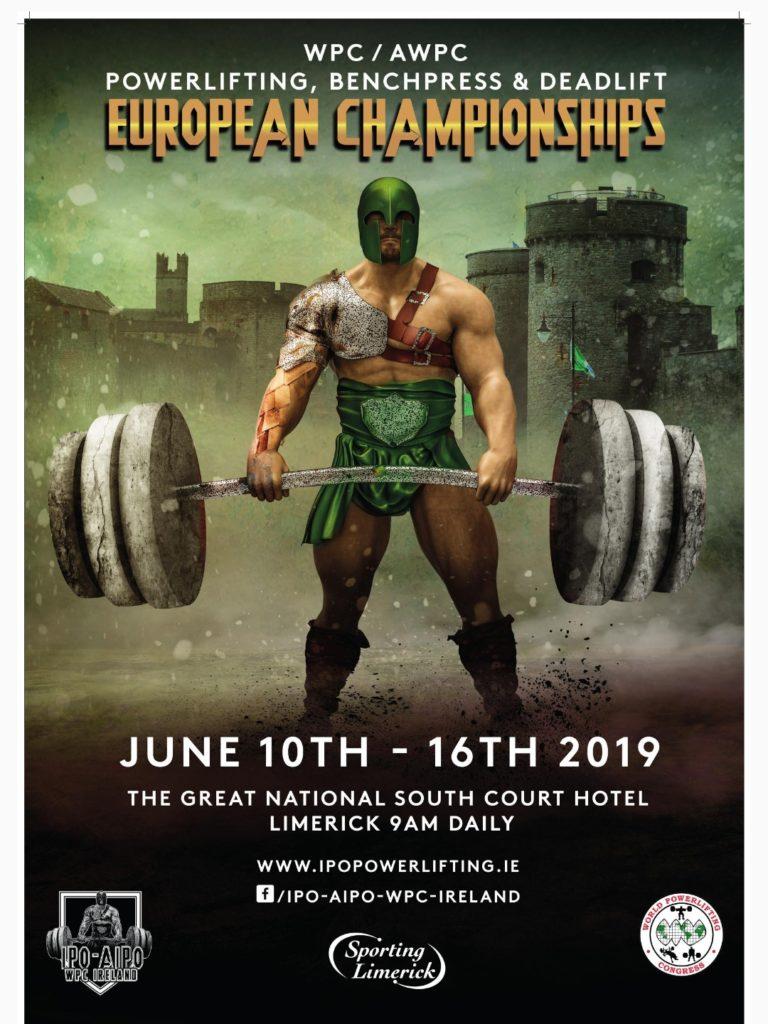 affiche europe WPC irlande 2019