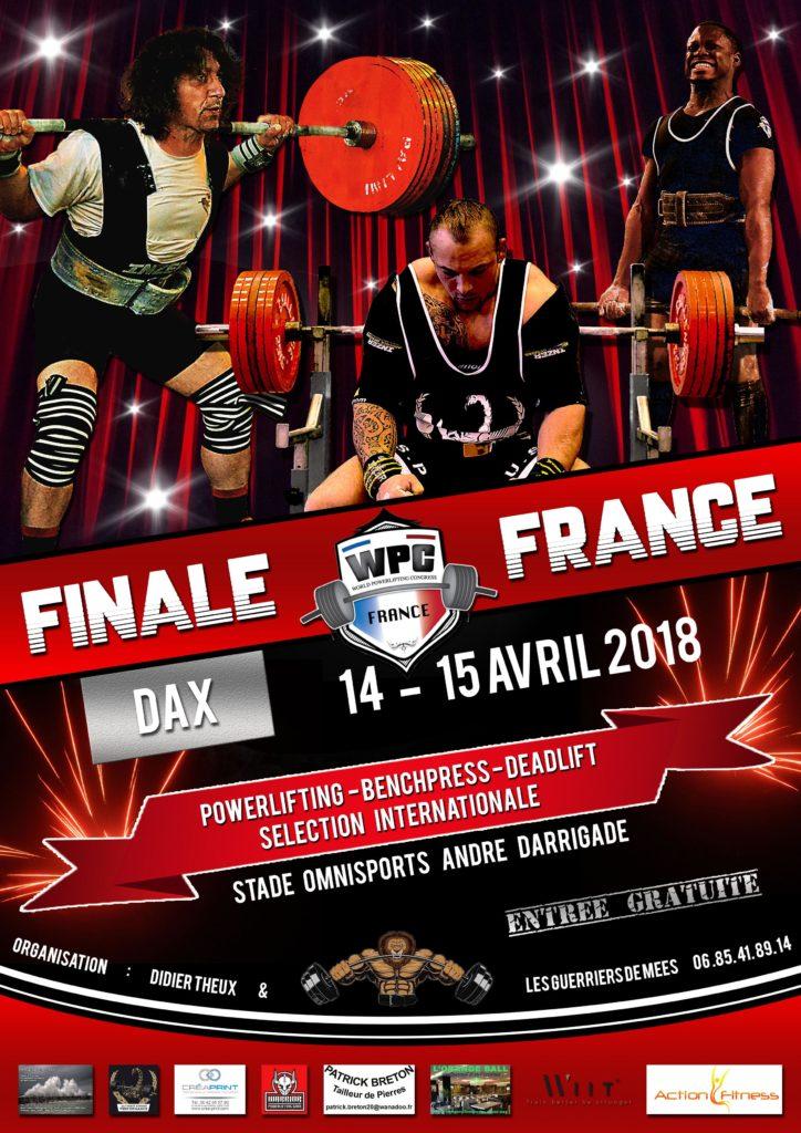 finale france wpc 2018 dax