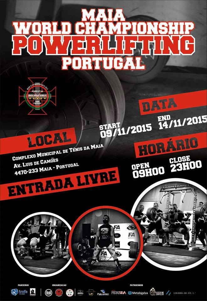affiche monde wpc 2015 portugal