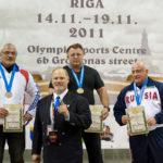 podium championnat monde wpc france 2011 riga
