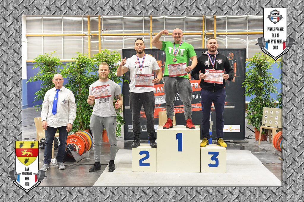 vincent kluska podium powerlifting wpc france