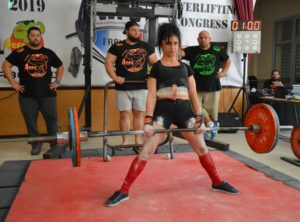 Benedicte LePanse deadlift open wpc france
