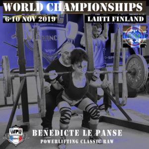 Benedicte LePanse monde wpc 2019