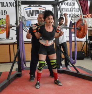 Benedicte LePanse squat open wpc france