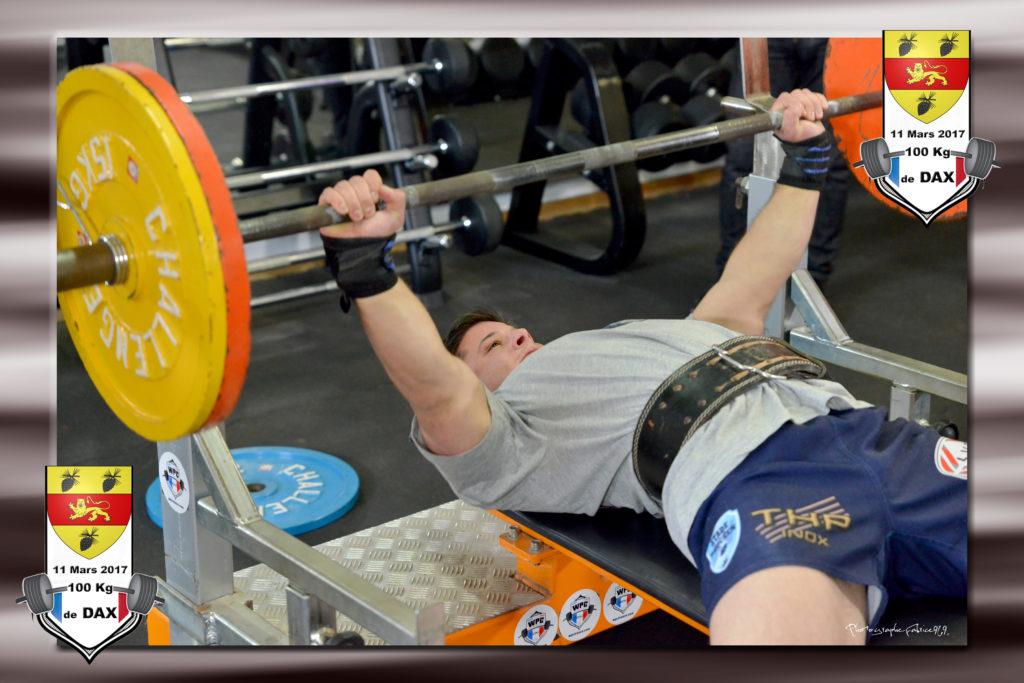 Johann champ wpc france 100kg dax 2017