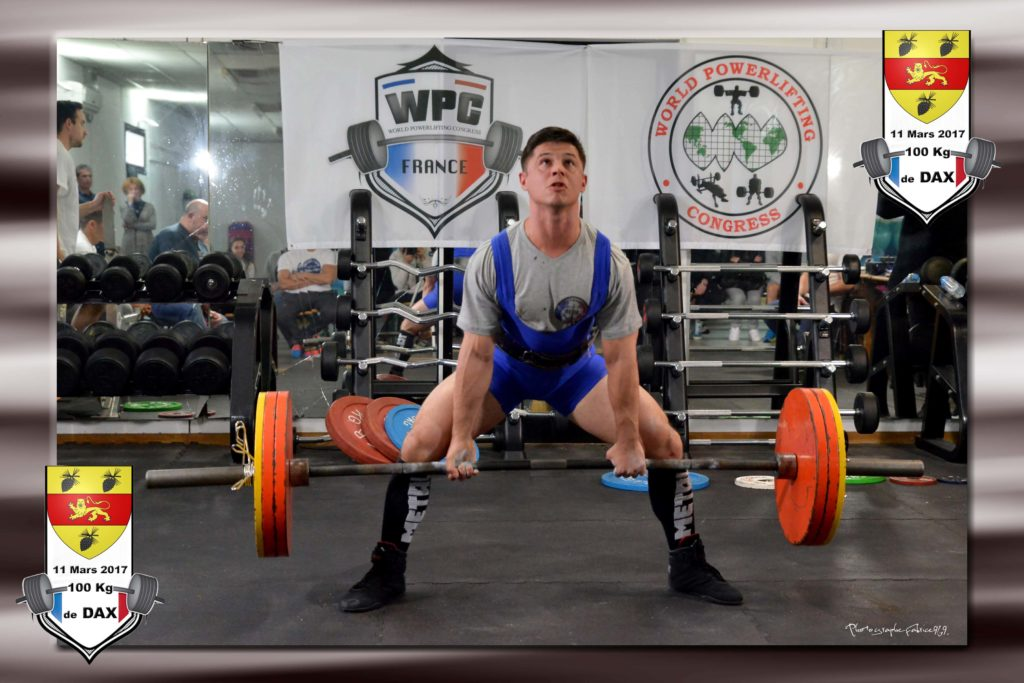 Johann champ wpc france 100kg dax 2017 deadlift