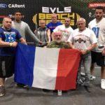 Coupe europe EVLS wpc 2016 prague equipe france