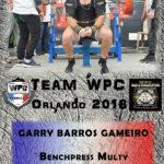 Fiche GAMEIRO Garry wpc france 2018
