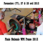 Finale wpc france faremoutiers 2013 salim merah