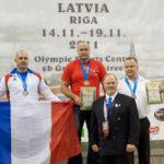 podium eric championnat monde riga 2011